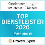 Top Dienstleister 2020 - Proven Expert